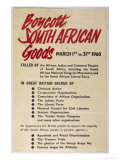 Anti-Apartheid Handbill Giclee Print