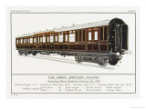 Great Western Railway Corridor Carriage Giclee Print by W.j. Stokoe