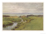 Wessex Scenery Giclee Print by Walter Tyndale