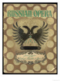 Russian Opera, Headed by the Singer Chaliapin, Visits Paris Premium Giclee Print