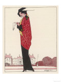 Afternoon Mantlet 1913 Giclee Print