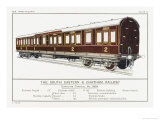 South Eastern and Chatham Railway Carriage Giclee Print by W.j. Stokoe