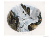 Avalanche, 1860 Giclee Print by J.w. Whimper