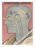 What the Brain Does Premium gicléedruk