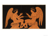 Ancient Greece: Game of Mora Giclee Print