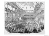 Concert at the New Music Hall at the Surrey Gardens London Giclee Print by Smyth