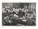 Conservative Prime Minister Lord Salisbury Addresses the House Giclee Print by Walter Wilson