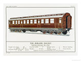Midland Railway Sleeping Carriage Giclee Print by W.j. Stokoe