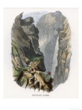 Alps: The Gemmi Pass in the Swiss Alps Giclee Print by J.w. Whimper