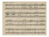 Piano Sonata Opus 26 Lámina giclée