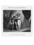 Troilus and Cressida, Act V Scene II: Cressida and Diomedes Giclee Print by J. Thompson