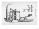 Newcomen Atmospheric Engine Modified by Richard Trevithick Senior at Bullan Garden Dolcoath in 1775 Giclee Print