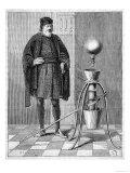 Otto Von Guericke's Pneumatic Pump Giclee Print