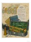 Wurlitzer Trumpet Outfit Giclee Print