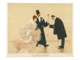 "Polite Presentation: ""My Friend Mr. White"" Giclée-Druck von Jan Van Beers"