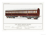 North Eastern Railway Third Class Carriage Giclee Print by W.j. Stokoe