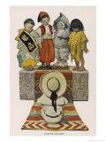 Foreign Children Giclee Print by Jessie Willcox-Smith