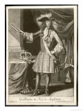 King William III William of Orange Reigned as King of England 1688-1702 Reproduction procédé giclée par Gerard Vlack
