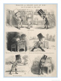 Victorian Satire of Office Life Giclee Print by  Sullivan