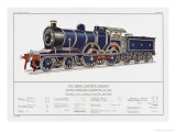 Great Eastern Railway Express Loco No 1853 Giclee Print by W.j. Stokoe