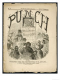The Cover of the First Issue of Punch or the London Charivari Giclee Print