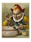He is Tormented by the King's Jester Who is Jealous of His Small Size Giclee Print