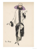 Monkey Fur Coat 1922 Giclee Print