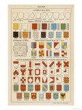 Blazon: Showing Elements Giclee Print