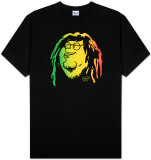 Family Guy - Peter Rasta Face T-Shirts