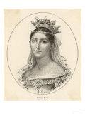 Giuditta Pasta Italian Opera Singer Giclee Print by H. Thirai
