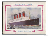 Passenger Liner on the Trans- Atlantic Run Giclee Print