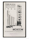 Moscow's Magnificent Modern Architecture Giclee Print