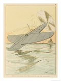 Learn from Flying Fish Giclee Print by Joaquin Xaudaro