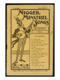 Nigger Minstrel Songs Giclee Print