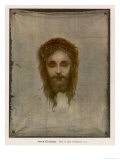 Jesus of Nazareth Wearing the Crown of Thorns Placed on His Head by the Roman Soldiers Giclee Print