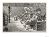 Roasting Room in the Fry's Chocolate Factory in Bristol Giclee Print