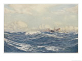 The Blue Seas of the Great Australian Bight Giclee Print by Percy F.s. Spence