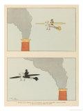 The Aviator Giclee Print by Joaquin Xaudaro