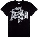 Death - Silver Logo T-Shirt