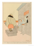 Passengers Will be Weighed-In at the Check-In and Their Fares Adjusted Accordingly Giclee Print by Joaquin Xaudaro