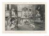 At Rest Beneath Shakespeare, Sir Henry Irving's Grave at Poets Corner Westminster Abbey Giclee Print