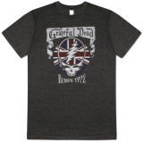 Grateful Dead - Europe 1972 (Slim Fit) T-shirts