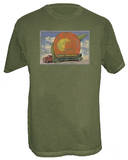 Allman Brothers Band - Dye Eat A Peach Tshirts