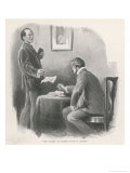 Reminiscence of Mr. Sherlock Holmes Premium Giclee Print by Arthur Twidle