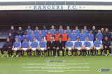 Rangers Team Photo 06/07 Posters