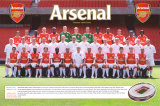 Arsenal Team Photo 06/07 Print