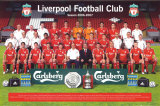 Liverpool Team Photo 06/07 Poster