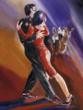 Tangerine Tango I Poster von Alfred Gockel