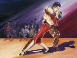 Tangerine Tango III Posters by Alfred Gockel