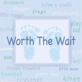 Words to Live By, Worth the Wait Prints by Marilu Windvand